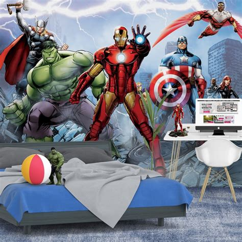 marvel wall mural 1wall marvel wall mural wallpaper 254cm x 360cm