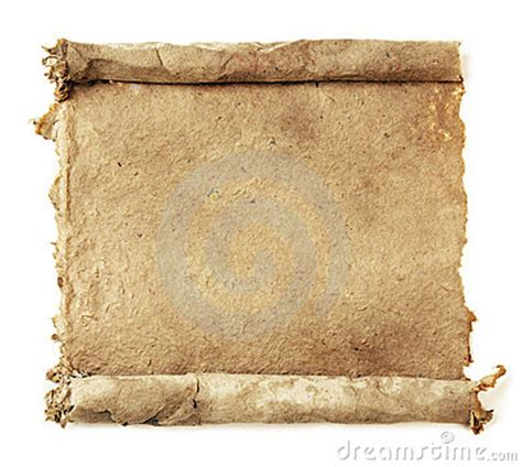 Handmade Scrolls - handmade paper scroll royalty free stock image image