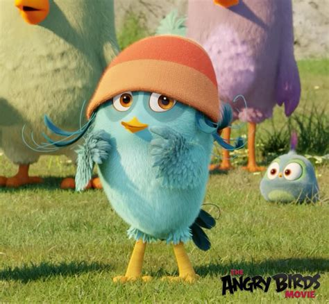 Luca Kid Biru demi lovato nyanyikan soundtrack angry birds muvila