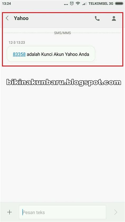 buat email yahoo gratis cara membuat email di yahoo indonesia melalui hp android