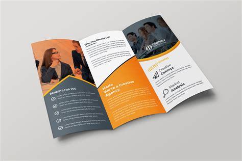brochures design templates creative tri fold brochure design template 001699