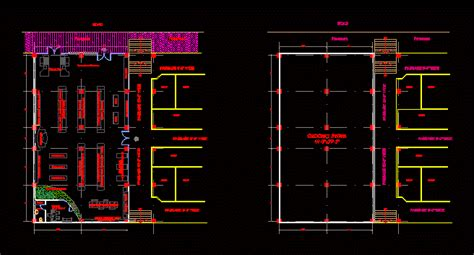 grocery store dwg block  autocad designs cad