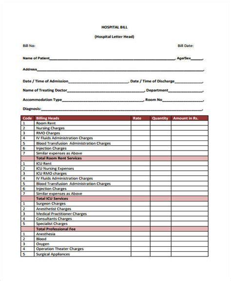 hospital payment receipt template 42 payment receipt sles sle templates