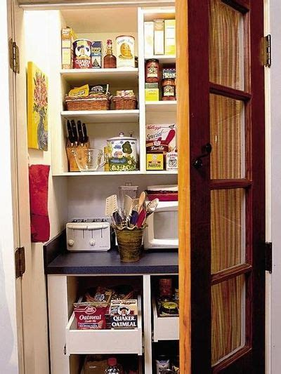 Small Walk In Pantry by Like The Idea Of A Small Walk In Pantry With A Small Applian For Kitchen Juxtapost