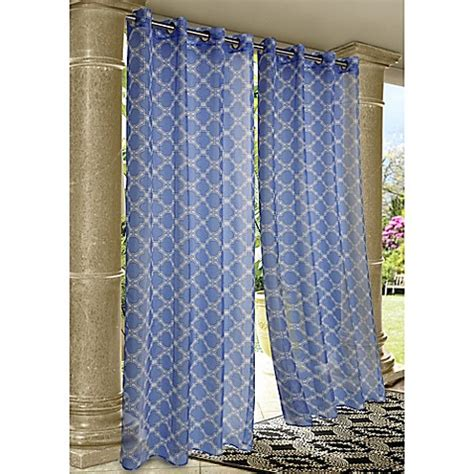 commonwealth outdoor curtains commonwealth home fashions wrought iron indoor outdoor