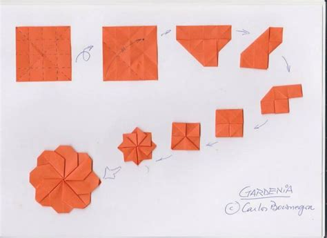 How To Fold Origami Flowers - 191 best images about origami used a lot on