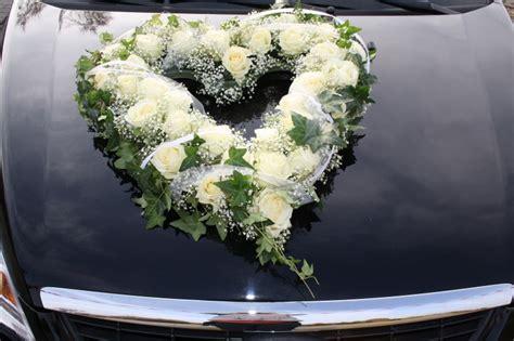Autoschmuck Hochzeit by Im Zeichen Der Liebe Herz Autoschmuck
