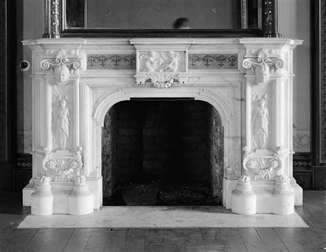 Historic Fireplaces fireplace hearth and mantel historic details