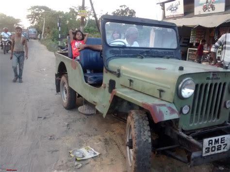 mahindra cj dp   custom  expedition trailer