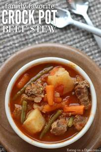 and easy crock pot recipes easy crock pot beef stew recipe on a dime