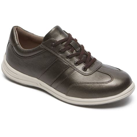 rockport walk together brand t toe womens walking shoes