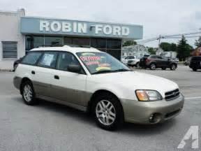 2002 Subaru Outback For Sale 2002 Subaru Outback For Sale In Glenolden Pennsylvania