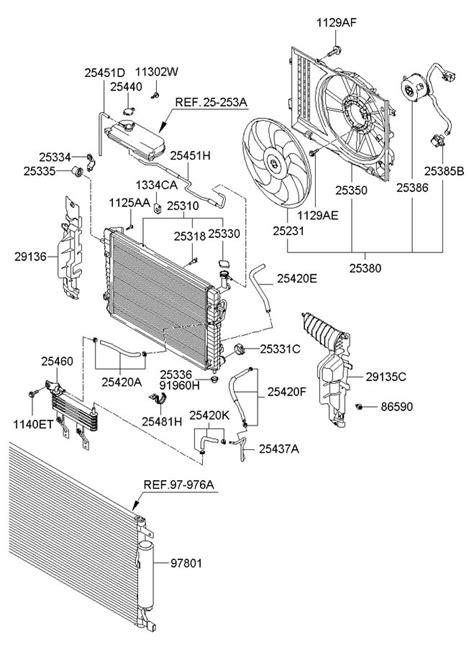 Radiator Hyundai Trajet 2000 Cc Synergy Radiator Hyundai 10004094 2007 hyundai tucson radiator