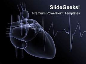 Cardiac Ppt Template by X Powerpoint Template 1110 Powerpoint