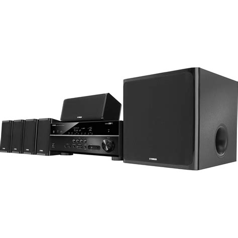 yamaha yht 5920ubl 5 1 channel home theater in a box yht