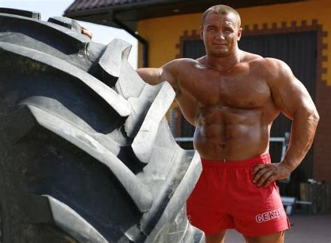 mariusz pudzianowski bench press if you could be any athlete in the world who would you be