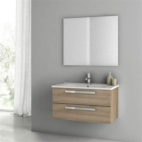 33 Inch Bathroom Vanity Cabinet by Modern 33 Inch Dadila Vanity Set With Ceramic Sink Grey
