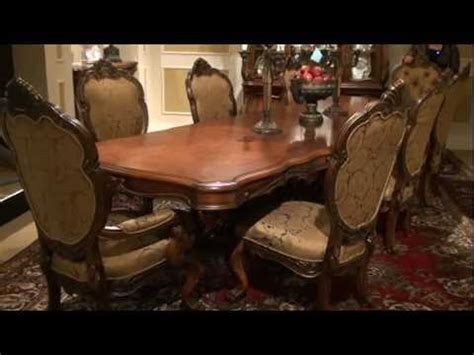 chateau beauvais rectangular trestle dining table