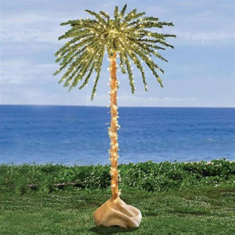 Outdoor Lighted Palm Trees Artificial Lighted Palm Trees Indoor Outdoor Mini More Involvery Reviews