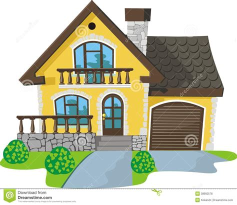 sweet home stock vector image 38992578