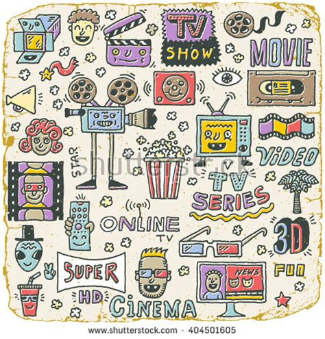 doodle do tv show vector free vectors 4vector