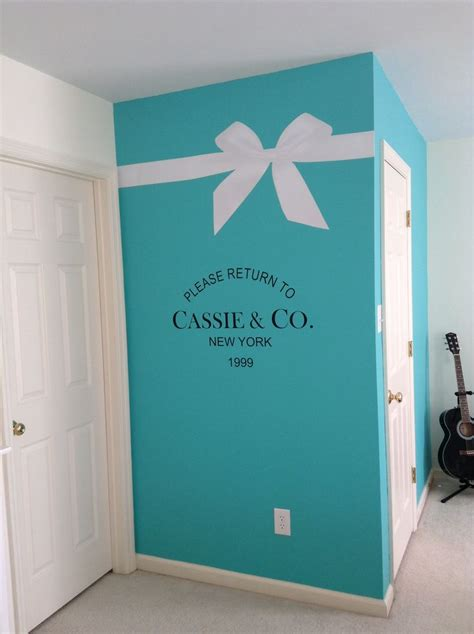 tiffany themed bedroom ideas my daughter cassie s new tiffany inspired room wall decals my daughter cassie s