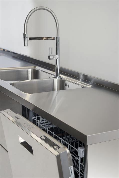 blocco cucina inox gps inox cucina in acciaio inox blocco cucina a parete