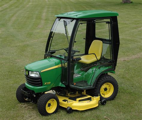 air conditioned lawn mower price deere cozy cab for sale best deer photos water
