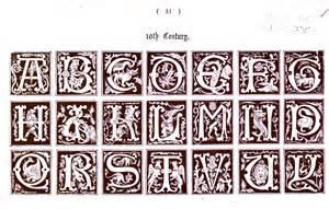 6 best images of printable medieval letters medieval