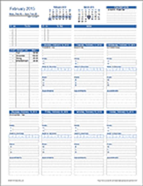 recruiter daily planner template free schedules for excel daily schedules weekly schedules