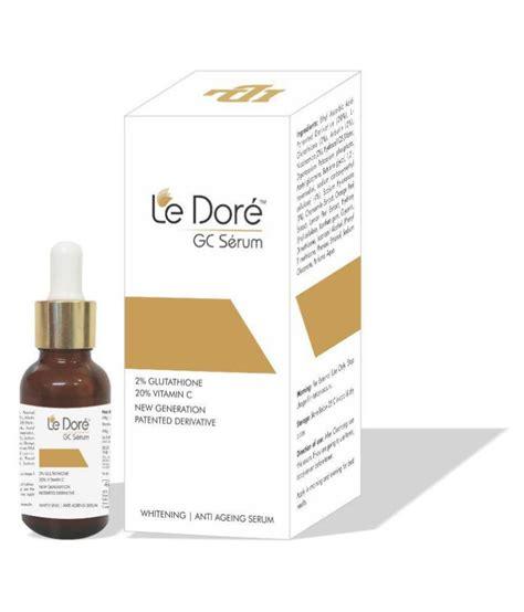 Serum Whitening Vit C le dore gc serum glutathione 20 vit c for skin whitening