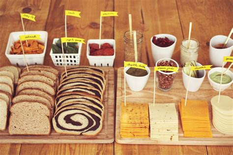 Southern Living Home Decor Party fancy grilled cheese party a beautiful mess