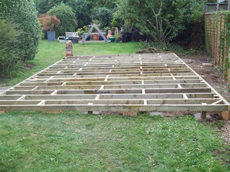Building A Shed On Uneven Ground by The Hobby Shed Beaminster Sheds