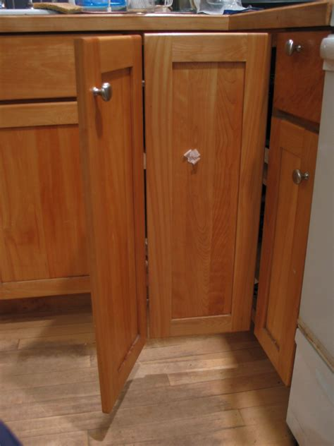 Double Hinged Cupboard No Problem After Gadget Corner Cabinet Door