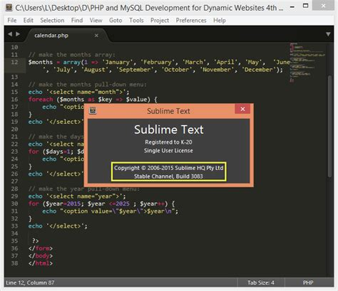 Sublime Text 2 Win Mac Linux | sublime text 2 x 3 x universal full license keys untuk
