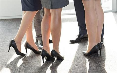 Would You Wear Careys High Heels by Ministers Pledge New Guidance And Prosecutions For Sexist