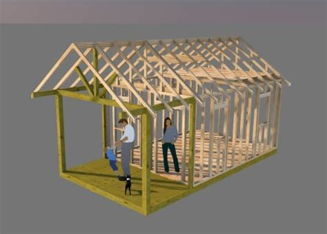 working  shed plans    gable shed