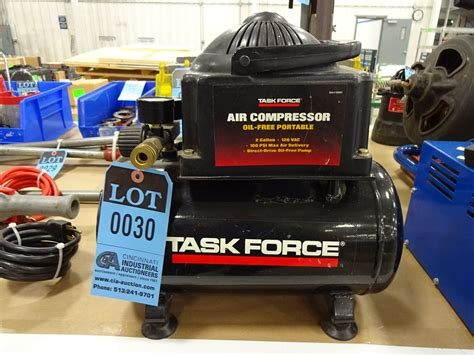 2 gallon task model 83691 free portable air compressor