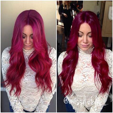 raspberry hair color raspberry hair color in 2016 amazing photo