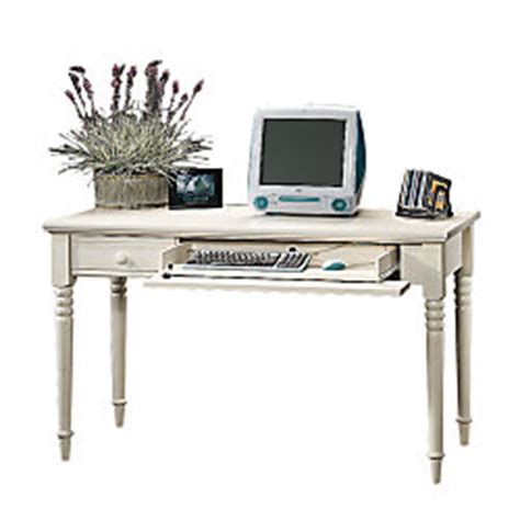 kate collection writing desk sauder harbor view collection writing desk 31 h x 53 14 w