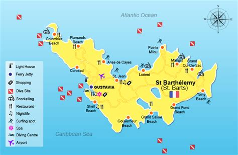st barts map welcome to barthelemy stmartinbookings