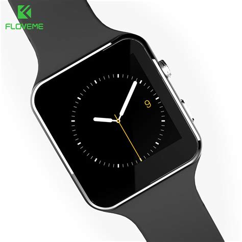 Floveme Bluetooth Smartwatch floveme e6 sport smart bluetooth sync phone smartwatch for apple iphone huawei xiaomi