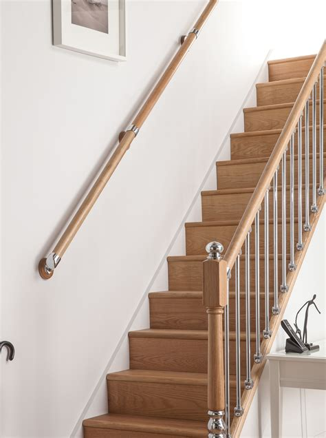 Wall Handrail Axxys Wall Mounted Handrail Kit 4000mm Blueprint Joinery