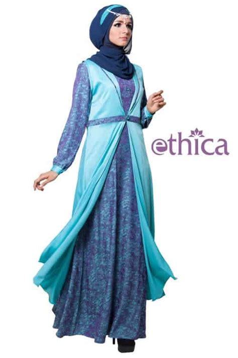 Ethica Ayumi 05 Xl 07 Xl model gaun pesta muslimah modern terbaru 2016 ethica collection