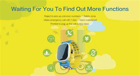 Qq Qq016 Light Blue kilimall tencent qq children gps tracker smartwatch light blue one size 67430