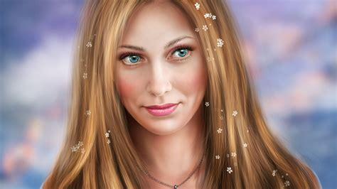 girl wallpaper qhd blonde girl blue eyes fantasy wallpaper 2560x1440 qhd