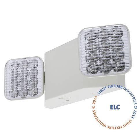 Egress Lighting Fixtures All Led Emergency Exit Light Square Ul Code Safety Egress Elw2 Ebay