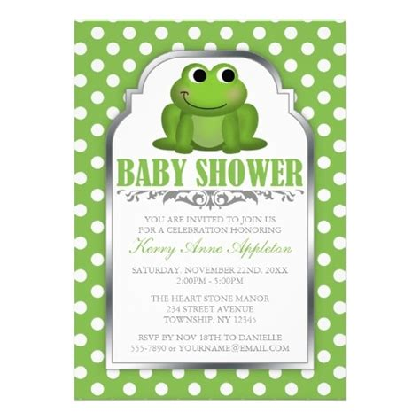 Frog Baby Shower by 1000 Images About Baby Shower Green And Purple On