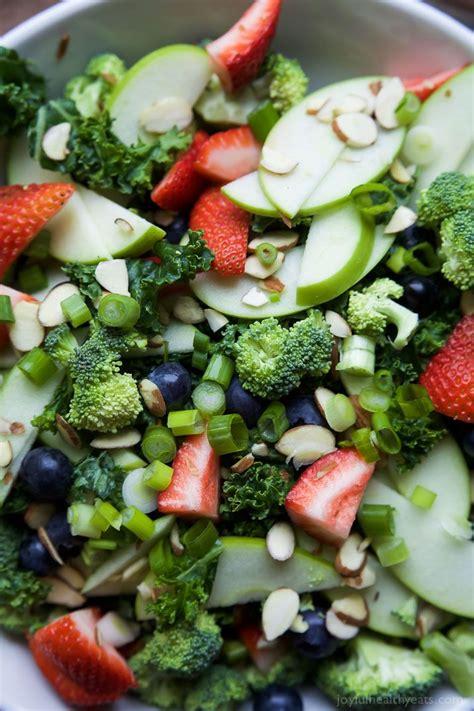 Cabbage Broccoli Detox Salad by Summer Detox Salad With Citrus Basil Vinaigrette Recipe