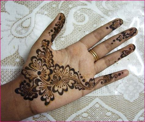 easy mehndi tattoo designs for hands simple mehndi designs for hands 2012